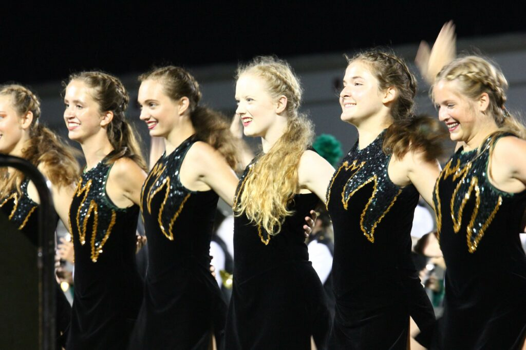 GreenWave Band-Foothball Game-South-00117 - Copy