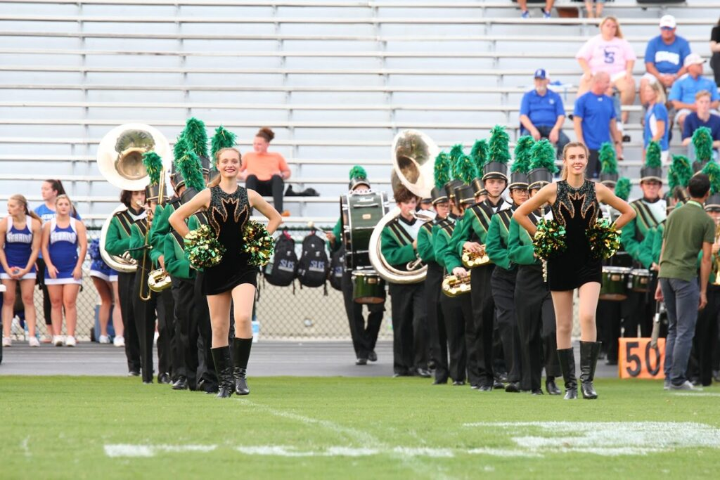 band before taking field