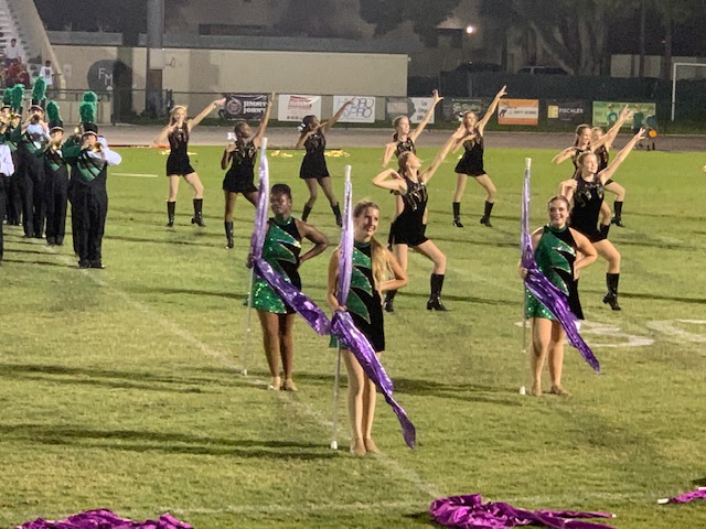 Color Guard, Dance & Marching Band