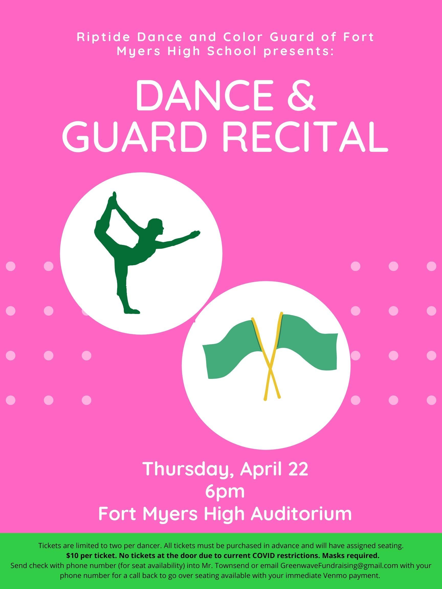 Dance april 22 @ 6