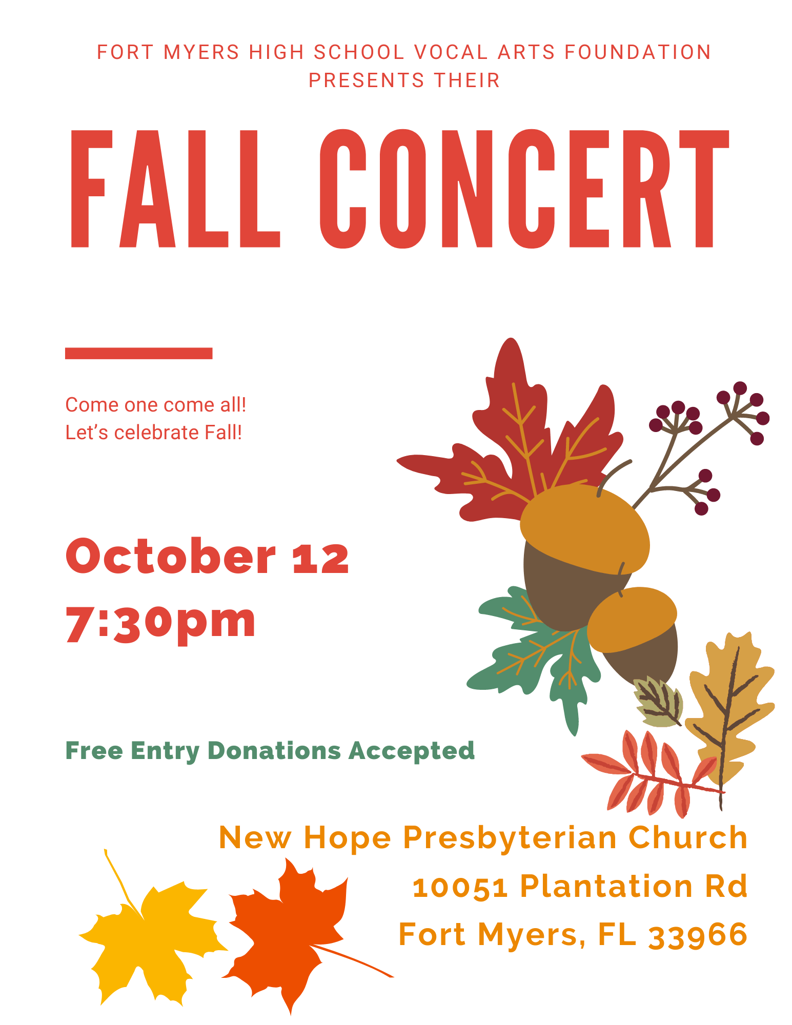 fall concert 2021